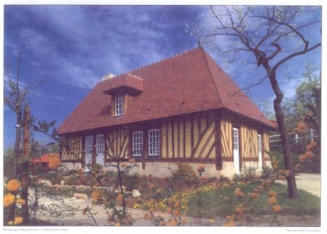 normannisches landhaus w rzburg online landesgartenschaugel nde 1990. Black Bedroom Furniture Sets. Home Design Ideas