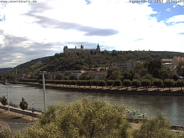 Würzburg City Center, Main River and Castle