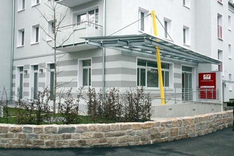 Quartiersbüro in der Zellerau