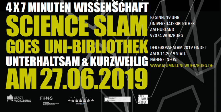 Science Slam goes Uni-Bibliothek