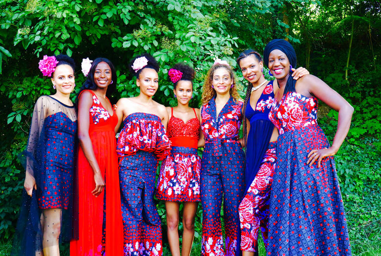 32. Africa Festival 2021 Models Madame Rama ©Africa Festival Würzburg e.V. Bugs-Steffen_s