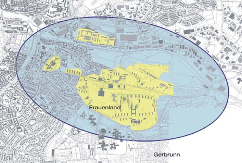 Umgriff Integriertes Stadtteilentwicklungskonzept