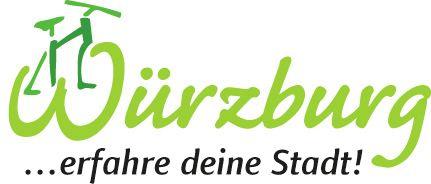 Fahrradlogo_Stadt Würzburg_Weiß