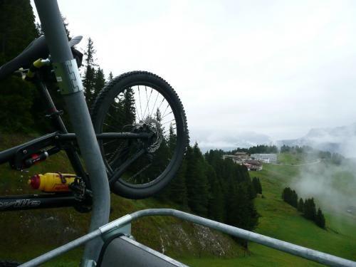 Mountainbiker Sektionsfahrt 2010