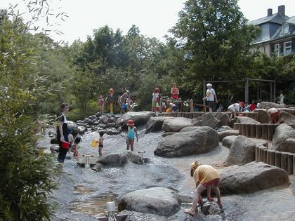 Wasserspielplatz: Foto Gartenamt