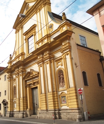 Karmelitenkirche in Würzburg