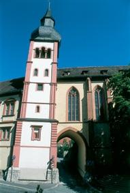 Deutschhauskirche in Würzburg