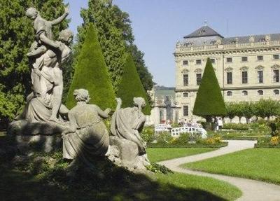 Hofgarten der Würzburger Residenz: Figurengruppe