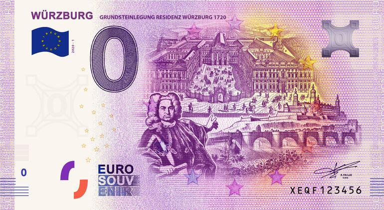 Null-Euro-Schein Würzburg / Congress Tourismus Würzburg