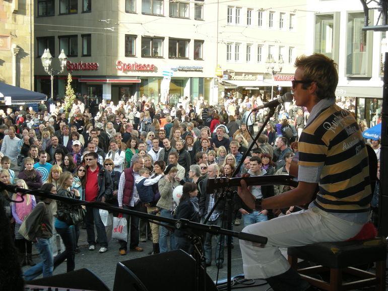 12.04.2015 Stadtfest Bühne