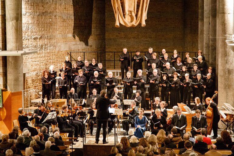 26.10.2018 Würzburger Bachtage Bachchor c Thomas Düchtel