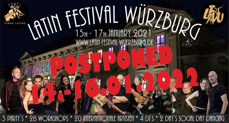 Latin Festival Würzburg 2021 verschoben auf 2022_o