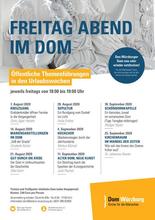 24.07.2020 Plakat Dom Sommerführungen 2020 final
