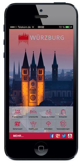 Bild: Würzburg App Iphone