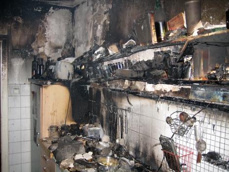 Brand Wohnung 4135