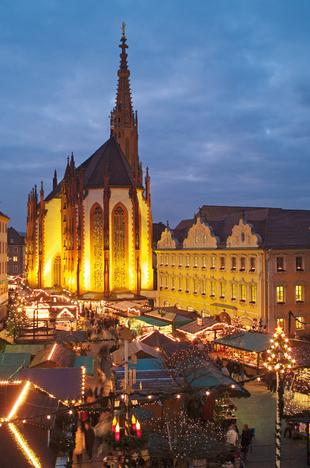 36. Weihnachtsmarkt c Congress Tourismus Würzburg