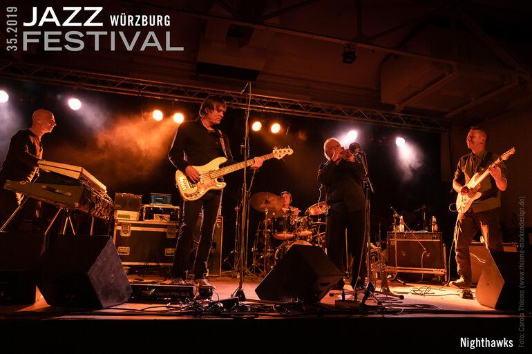 01.11.2019 Jazzfestival Würzburg c Carola Thieme DSC05682_Nighthawks_1200