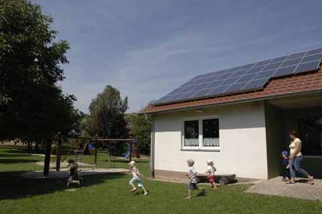 Solaranlage - Urheber: Bundesministerium für Umwelt, Naturschutz und Reaktorsicherheit
