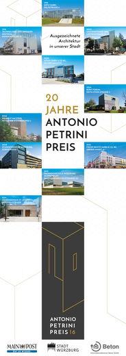 Antonio-Petrini-Preis 2016 Plakat