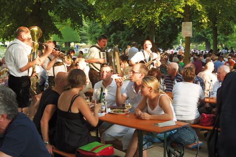 Wine festival in the Court Gardens of the Residence Palace