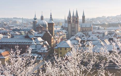 Winter wonderland Würzburg