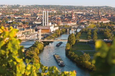 View of Würzburg from Steinburg