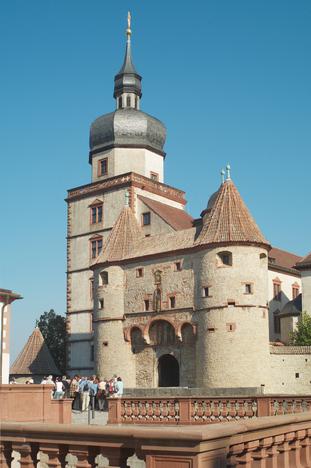Scherenbergtor (Scherenberg gate) at Fortress Marienberg