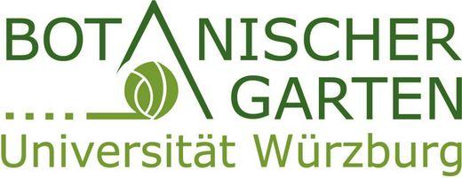 Logo Botanischer Garten der Universität Würzburg