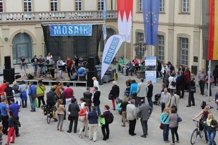 Inklusionsband Mosaik Rathaushof