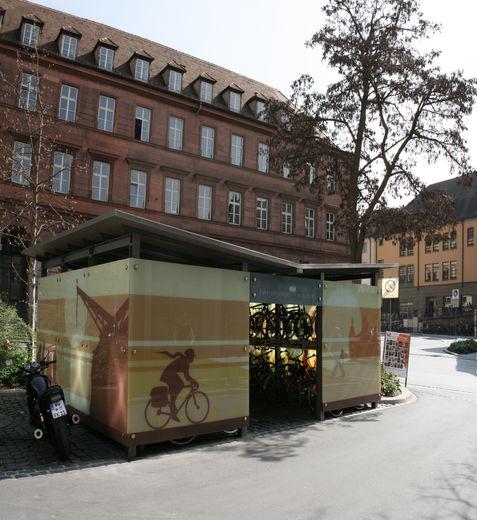 Fahrradgarage am Rathaus