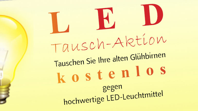 LED-Tausch-Aktion