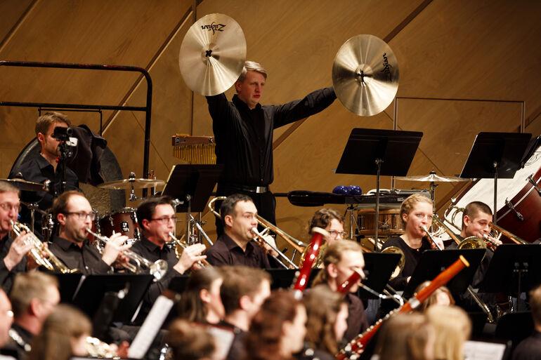 Projektorchester im CCW  (c) CTW / A. Grasser