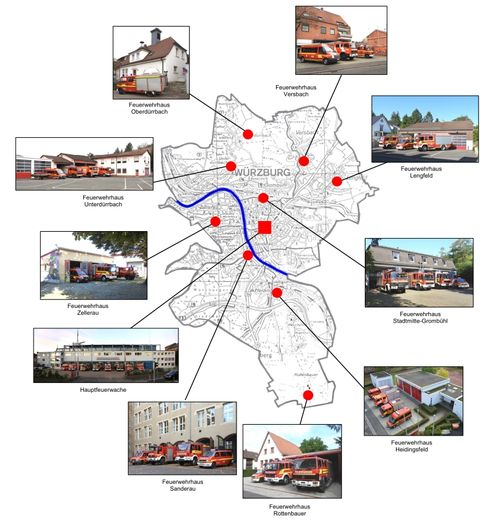 Standortplan FF