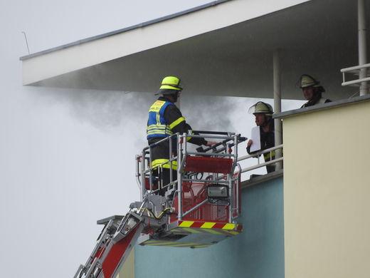 Brandeinsatz gegenüber Hauptfeuerwache 27.4.2017
