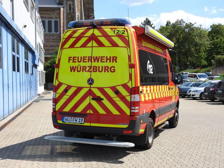 Einsatzleitwagen BF Würzburg
