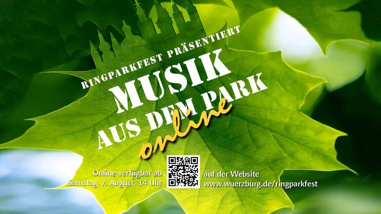 Musik aus dem Park quer