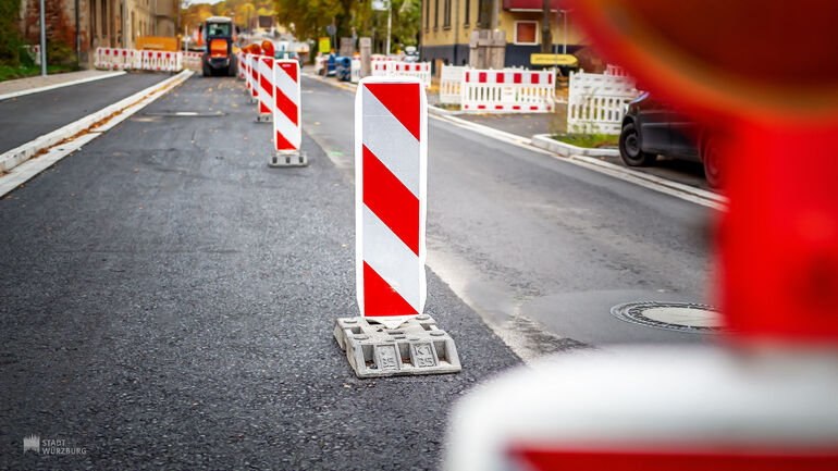 Baustelle Straßenarbeiten