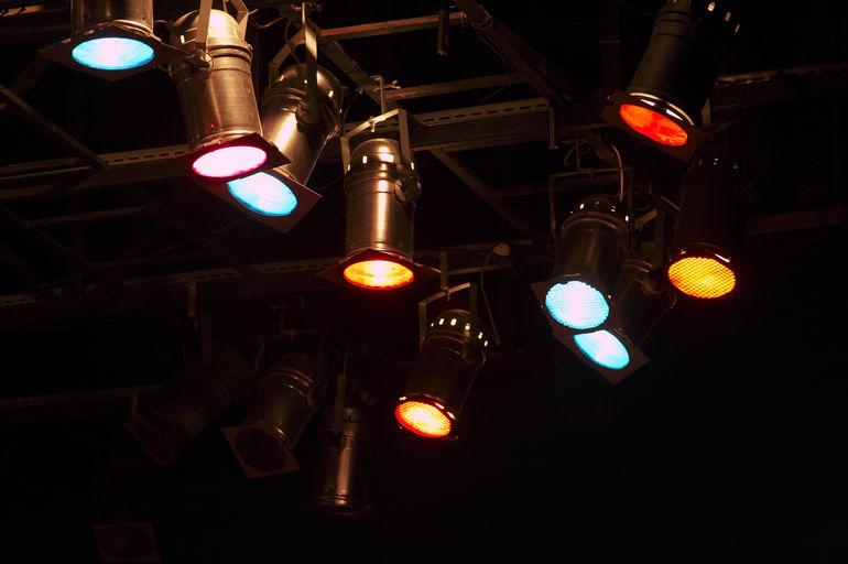 Foto: Scheinwerferlicht