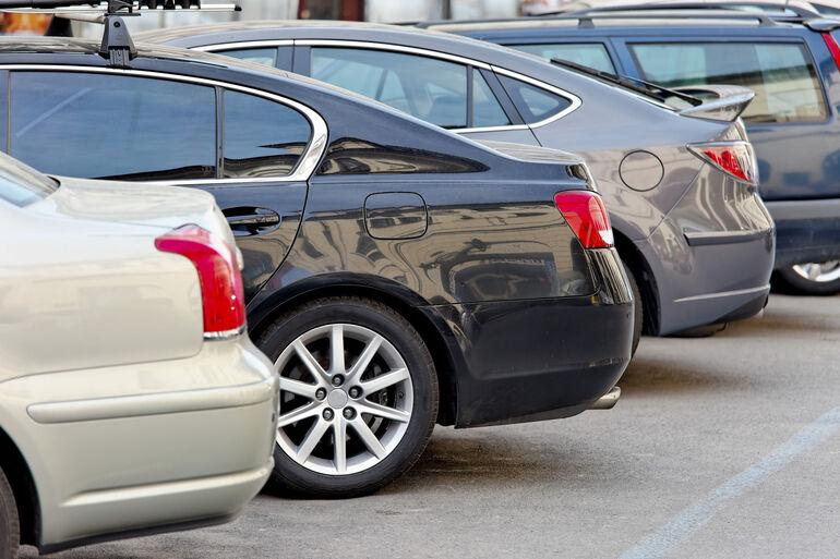 Foto: Parkende Autos
