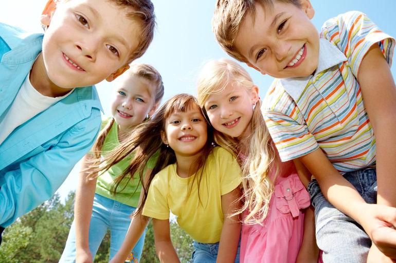 Foto: Kindergruppe