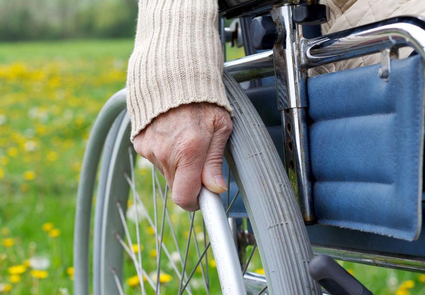 Foto: Menschen mit Behinderung