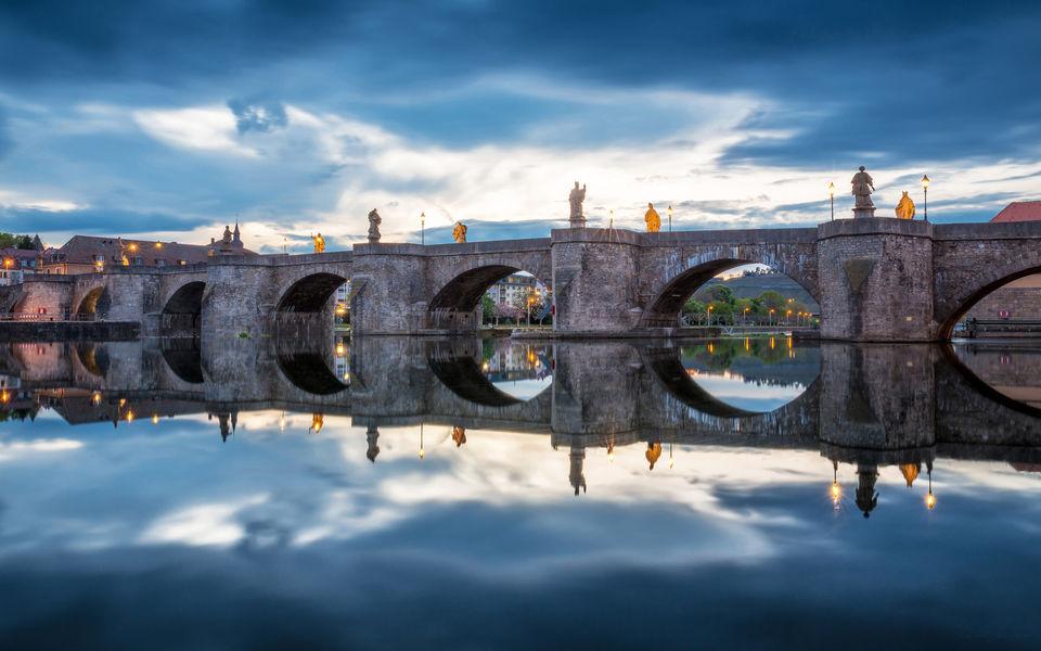 Foto: Alte Mainbrücke