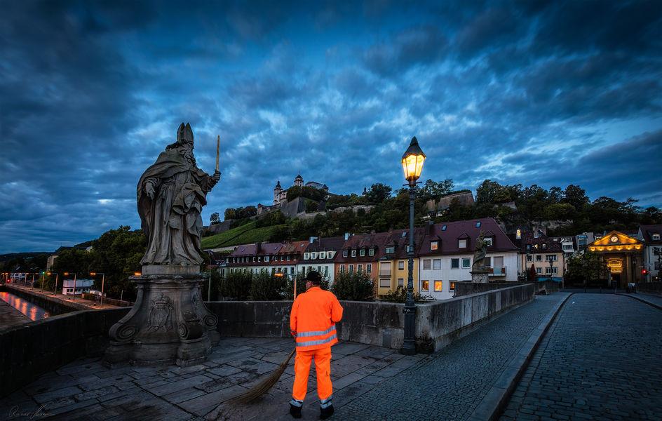 Foto: Frühschicht Stadtreiniger