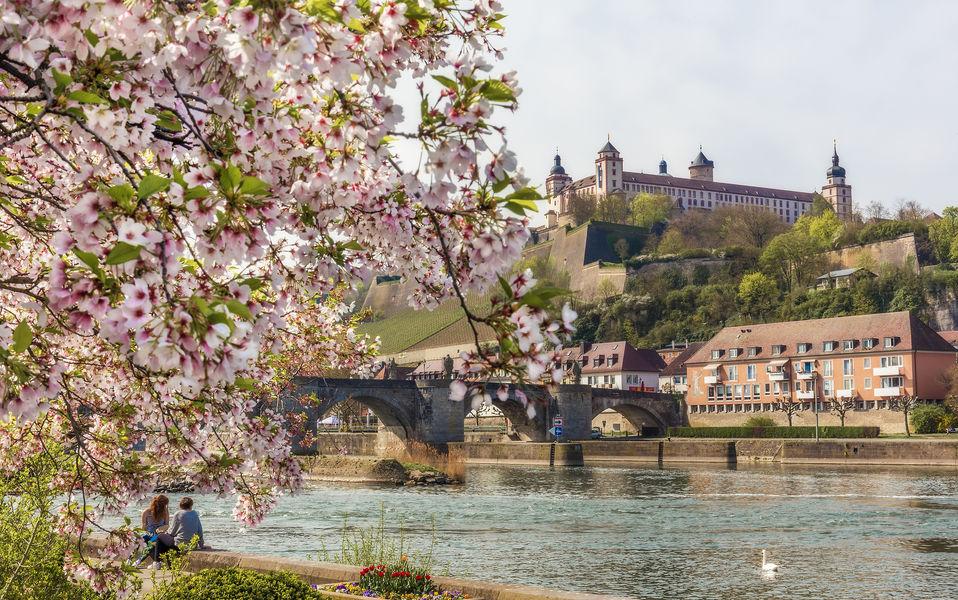 Foto: Frühling in Würzburg