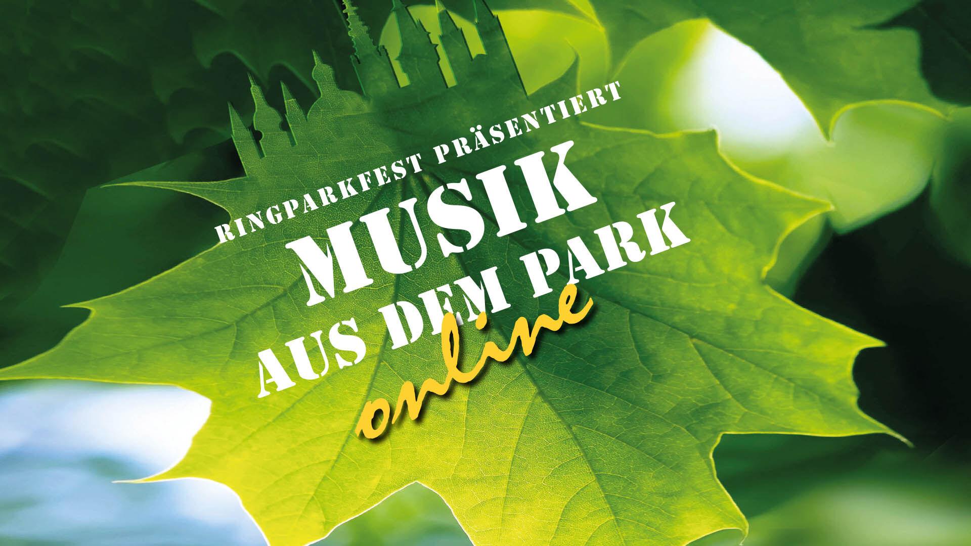 Musik aus dem Park quer ohne