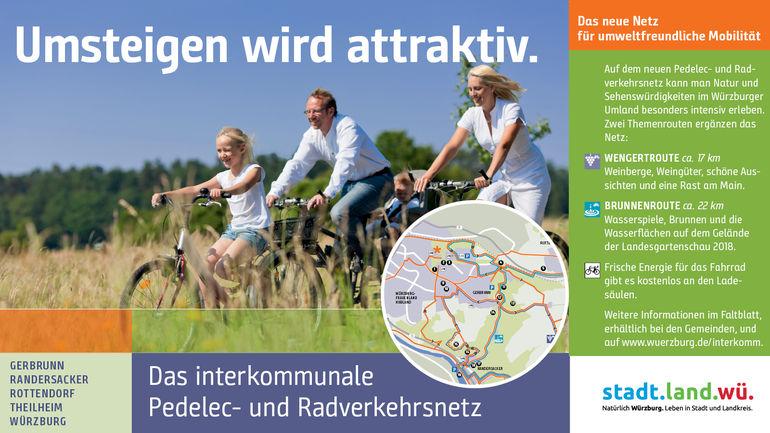 Interkommunales Pedelec- & Radverkehrsnetz