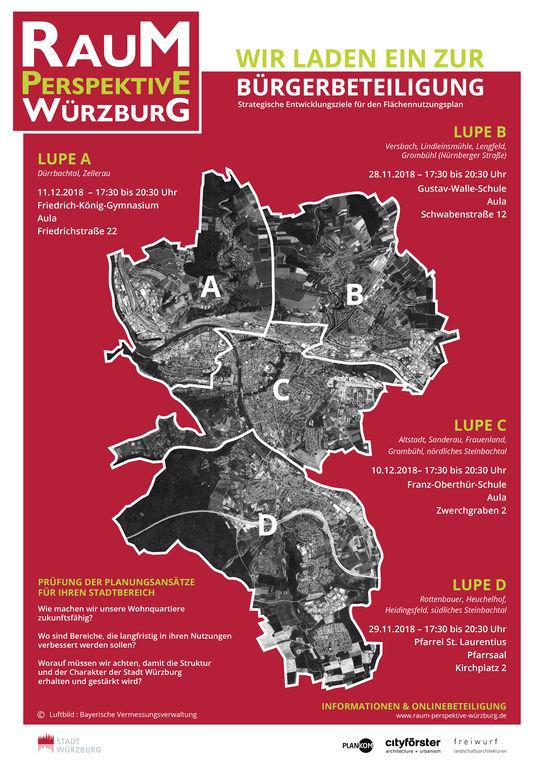 Bürgerbeteiligung-Flächennutzungsplan-Plakat