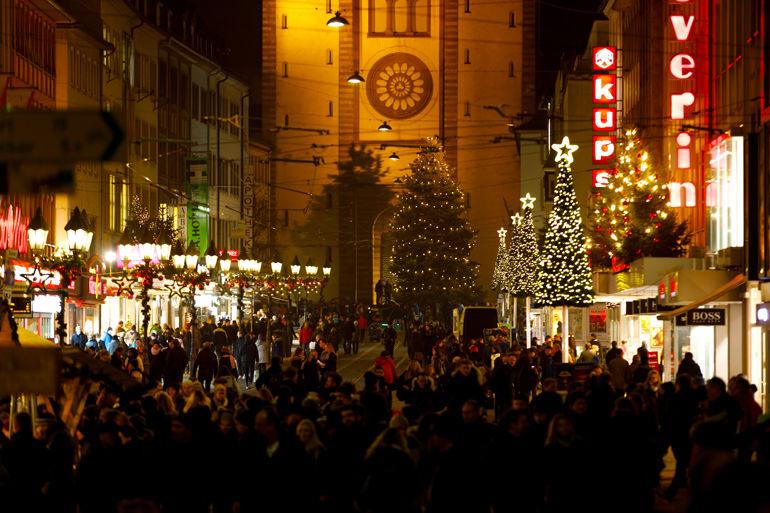 Domstraße Weihnachten