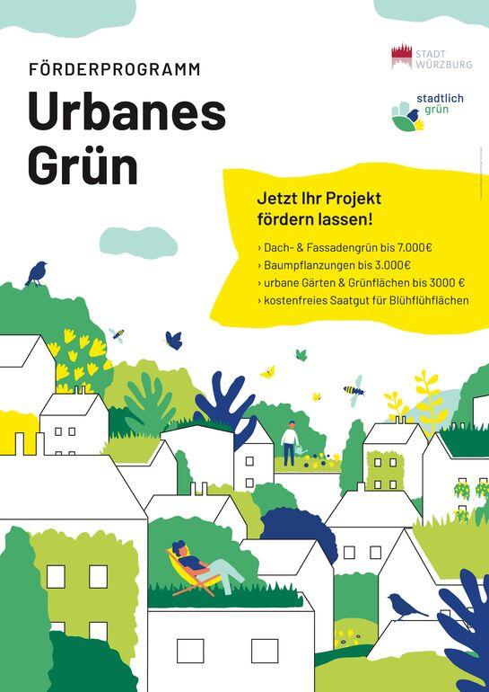 Förderprogramm stadtlich grün