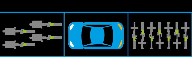 Grafik: Autos brauchen viel Platz